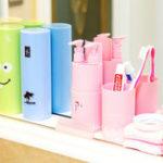 Оригинал HonanaПортативныйДержательдлязубныхщеток для путешествий Чехол Хранение зубных паст Коробка Трубка Хранение Зубная паста