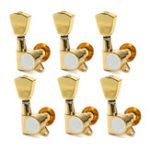 Оригинал 6Pcs Golden Tuning Pegs Keys Machine Tuner Heads Guitar Grove для Les Paul Electirc Guitar Parts