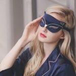 Оригинал Глаз Маска Подушка для отдыха Relax Eyeshade Cover Sleeping Blindfold Duplex Сексуальный Eye Shade Sleep Маска Повязка