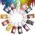 Оригинал 13 Цвета Эпоксидная смола UV Смола окрашивающая краситель Красящий пигмент Easy Drop Tip No Smell