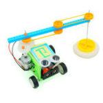 Оригинал DIY Пол Mopping Робот Электрический Sweeping Робот Игрушка Собранная Игрушка для детей