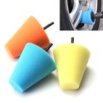 Оригинал 6mm Shank Sponge Cone Полировочная пена Pad Буферные подушки Power Дрель Аксессуары