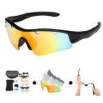 Оригинал REVOСпортивныеполяризационныесолнцезащитныеочкиФотохромные линзы для мужчин Женское Велоспорт UV Защита для век Windproof Очк