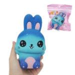 Оригинал Squishy Galaxy Rabbit Kawaii Cute Slow Rising Soft Коллекция подарков Декор Игрушка