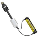 Оригинал NitecoreLC10ПортативныймагнитныйUSBБатарея Зарядное устройство и блок питания и резервный свет EDC фонарик