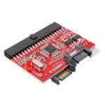 Оригинал Двунаправленный SATA для IDE-адаптера IDE на карту конвертера жестких дисков SATA с кабельным кабелем Sata
