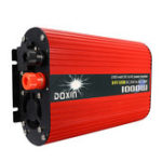 Оригинал DOXIN 1200W Пиковый преобразователь постоянного тока DC12V / 24V для AC 220V / 110V Модифицированный преобразователь синусоидальной волны