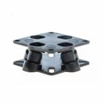 Оригинал A3 X6 QQ CC3D MINI APM Бортовой контроллер Антивибрационный амортизатор амортизатора для FPV RC Multirotor