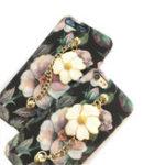 Оригинал Светящиеся3DретроцветокHardPC Защитный Чехол с металлическим браслетом для iPhone 6/6s Plus 7/8 Plus