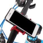 Оригинал Mijia Металлический регулируемый зажим для велосипеда Держатель для держателя для велосипедов Xiaomi Nubia Мобильный телефон