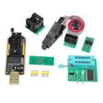 Оригинал EEPROM BIOS USB-программатор CH341A + SOIC8 Clip + 1.8V Adapter + SOIC8-адаптер для 24 25-й серии Flash