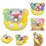 Оригинал Areedy Rainbow Galaxy Donuts Squishy 13 * 11 * 4CM Лицензированный Soft Медленный рост с упаковкой