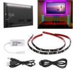 Оригинал ARILUX® 2PCS 50CM 5V 5050 WiFi-контроллер IP65 RGB USB LED Прожектор для освещения фонарей для фонарей для телевизора Набор