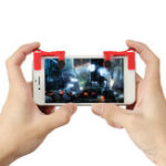 Оригинал PUBG Mobile Gaming Trigger L1R1 Кнопка Game Shooter Контроллер Геймпад для мобильного телефона