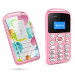 Оригинал AEKUM90,96дюйма360mAhВибрация Bluetooth One Ключ SOS Low Radiation Ultra Thin Mini Card Phone