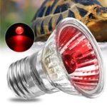 Оригинал AC220V E27 75W Amphibian Bird Snake Heat Рептилия Лампа Светло-красный Отопление Лампа
