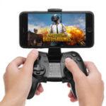 Оригинал НОВАЯ ИГРА Q1 Bluetooth 4.0 2.4G Беспроводная вибрация Геймпад с телефонным зажимом для Android IOS PC TV Коробка