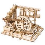 Оригинал 3D Деревянная головоломка Мраморный набор Run-Assembly Волшебный Треки DIY Игрушки Фантастическая модель День рождения Подарки