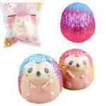 Оригинал  Hedgehog Squishy 9.5 * 8.5CM Slow Rising Soft Коллекция подарков для подарков с упаковкой