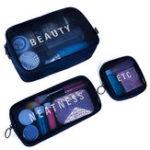 Оригинал NylonS/M/L Travel Женское Cosmetic Сумка Portable Макияж Сумка Mesh Чехол Portable Коробка