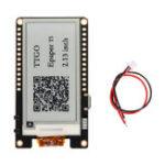 Оригинал Wemos® T5 V2.0 TTGO Беспроводной беспроводной модуль Bluetooth Base ESP-32 ESP32 2.13 ePaper Дисплей Board Development