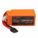 Оригинал Гигантская мощность DINOGY ULTRA GRAPHENE 2.0 18.5V 1300mAh 80C 5S Lipo Батарея XT60 Plug для RC FPV Racing