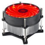 Оригинал 12V CPU Охлаждающий вентилятор Синий Красный Зеленый Светодиодный Охладитель охладителя для Intel 115X Series 1150 1155 1156 11