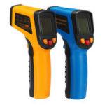 Оригинал 400 ℃ Цифровая инфракрасная температура Лазер LCD Термометр Новые бесконтактные IR
