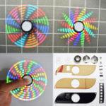 Оригинал 3шт Geekcreit® DIY Полноцветный вращающийся POV DIY LED Flash Набор Ручной прядильный электронный Набор