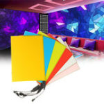 Оригинал LED EL Electroluminescent Провод Неоновая лента для вечеринки Главная Авто Декорация DC12V 210 x 148 мм