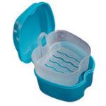 Оригинал НоваяКвалифицированнаякоробкадляхраненияУдобная баня для протезов Коробка Чехол Зубной Ложная зубчатая насадка Коробк