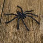 Оригинал 30Pcs/PackХэллоуинДекоративныепауки Маленькие пластиковые поддельные паук игры с привидениями Haunted House Prop white black