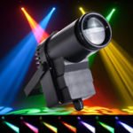 Оригинал 30W RGBW LED DMX512 Stage Light Pinspot Beam Spotlight 6CH Для DJ DISCO Party KTV