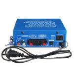 Оригинал 220V / 12V 80W 2-Channel Home Power Усилитель Аудио Стерео USB Bluetooth Hi-Fi Дистанционное Управление