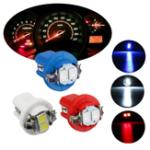 Оригинал 1PCS T5 B8.5D 5050 LED Авто Лицевая панель с подсветкой Панель приборов Калибровка Кронштейн боковой лампы 12V