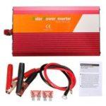 Оригинал 2200W Peak Power Inverter DC 12V / 24V Преобразователь синусоидальной волны переменного тока 220 В / 110 В с предохранителем