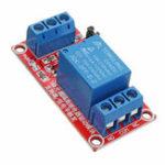 Оригинал 24V 1-канальный релейный модуль триггера уровня канала для Arduino