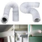 Оригинал 3M 5Inch Exhaust Шланг ПВХ Гибкий воздуховод кондиционера Выхлоп Шланг Замена Шланг Расширить вентиль