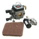 Оригинал Карбюратор Carb + Spark Plug + топливный фильтр для Zama STIHL FS45 FS55R FS55RC HL45