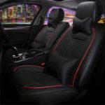 Оригинал 13PCS Кожа PU Авто Комплект сидений Полный комплект Передний задний с подушкой Талия Подушка Универсальная для 5-мест