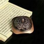 Оригинал Латунная ручка Дракон Carved Burner Antique Медь Aromatherpy Furnace Главная Пластина Держатель