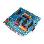 Оригинал Модуль расширения OPEN-SMART IO Датчик Плата расширения совместима с Arduino UNO Leonardo Mega2560