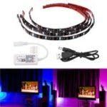 Оригинал ARILUX® 4PCS 5050 IP65 WiFi-контроллер RGB USB LED Прозрачная подсветка телевизора Набор для плоского экрана DC5V