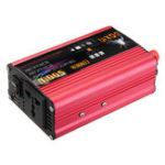 Оригинал Преобразователь мощности DOXIN 1000W с пиковой модификацией Преобразователь синусоидальной волны DC 12V / 24V для порта USB-подключения переменного