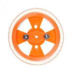 Оригинал 2шт 70 * 12мм Желтый износостойкий резиновый диск 3 мм Внутренний диаметр для двигателя N20