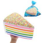 Оригинал Огромный Shortcake Squishy Jumbo 28 * 15 * 20CM Soft Медленный рост с коллекцией подарков Подарочная гигантская игрушка
