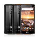 Оригинал HOMTOMZOJIZ95.7дюймовIP68 Водонепроницаемы 5500мАч 6GB RAM 64GB ПЗУ MTK6763 Octa core 4G Смартфон