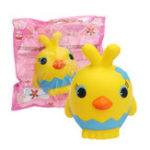 Оригинал Yellow Chick Squishy Slow Rising Scented Toy Gift Collection