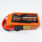 Оригинал Гигантская мощность DINOGY ULTRA GRAPHENE 2.0 11.1V 1500mAh 80C 3S Lipo Батарея XT60 Plug для RC FPV Racing