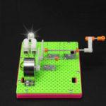 Оригинал DIY Handmade Generator Model Making Children Вручную Собранные Научные Игрушки
